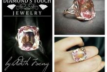 Custom Made Precious Gemstone Ring by Diamond's Touch Jewelry