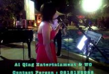 video performance full semi accoustic music by Ai qing entertainment & WO