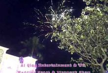 Firework show by ai qing entertainment by Ai qing entertainment & WO