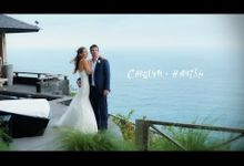 Carolyn & Hamish by Bali Wedding Films