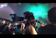 INTERLUDE Band on Launching of LAMBORGHINI AVENTADOR. at Potatto Head Garage SCBD Jakarta. by Rolando Sambuaga