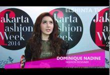 "Dominique Nadine ""La Gradation "" Jakarta Fashion Week 2014 by Dominique Nadine"
