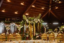 Menu catering by HR Team Wedding Group