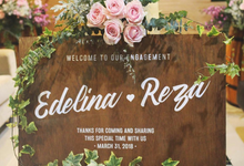 Edelina & Reza engagement  by HR Team Wedding Group