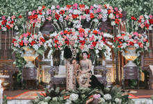 Reception Innes & Abed Mahkamah Konstitusi Bekasi by HR Team Wedding Group