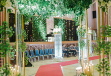 Karina & Irsyad Reception Manggala Wanabakti  by HR Team Wedding Group