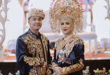 Friscca & Farid Minang Graha Jala Puspita by HR Team Wedding Group