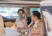 Prettycia & billy reception Klub Kelapa Gading by HR Team Wedding Group