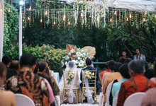 Izer & Tiara holy matrimony at Wyls kitchen  by HR Team Wedding Group