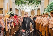 Resepsi Annisa & Ilham at Hotel Westin by HR Team Wedding Group