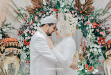 Putri & Algi Akad Nikah New Normal Minang Rustic by HR Team Wedding Group