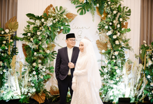 Akad Nikah Uswatun & Damoza at Mercure Gatsu by HR Team Wedding Group
