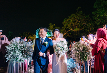 Intimate Wedding Ghina & Bagas Bumi ka-el Andara by HR Team Wedding Group