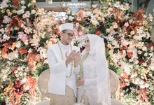 Akad Nikah New Normal Alya&fikri at the courtyard  by HR Team Wedding Group