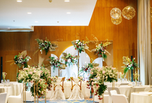 Intimate Wedding Arum & Rendy Hotel Morrisey  by HR Team Wedding Group