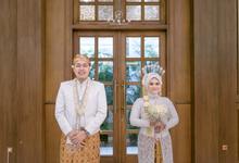 Intimate Wedding Azel & Luthfi (Balai Tetap Setia) by HR Team Wedding Group