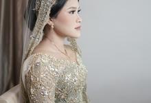 Intimate Wedding Rayhana & Dony At Kembang Goela by HR Team Wedding Group