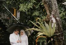 Intimate Wedding Amel&Lazuardi at Hidden Paradise  by HR Team Wedding Group
