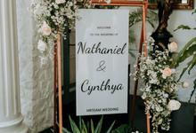 Intimate Wedding Nathaniel&Cynthya at Bunga Rampai by HR Team Wedding Group