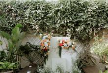 Intimate Wedding Sasya & Angga adat Lampung by HR Team Wedding Group