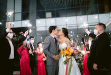 Intimate Wedding Ferdi & Obara at Wyl's Kitchen  by HR Team Wedding Group