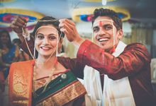 Arjun + Mrunal by Wedding Leaves