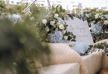 Yacht Proposal Inspired by Blue Ocean Shades by Lily & Co.