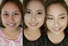 Before And After Photos by Aura Melika Makeup Artistry
