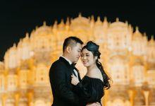 Pre-Wedding shoot of Huandy & Shelly by Henri Winata Menswear