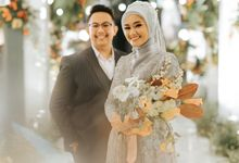The Wedding of Husaini & Citra by Visuel Project