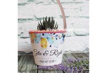Sukulen Pot Art Paper Custom by My Garden Gift