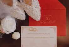 The Wedding of Atrova & Wahyu by Selaksa