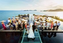 Ana and Stuart Chan wedding at Sri panwa Phuket by BLISS Events & Weddings Thailand