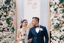 The Wedding Of Christian and Claudia by Kate Bridal and Couture