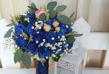 Exotic Bluemary by visylviaflorist