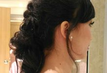 BRIDESMAID HAIRDO - ANKA by Priska Patricia Makeup