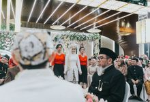 WEDDING OF INDAH & ANDZAR by  Menara Mandiri by IKK Wedding (ex. Plaza Bapindo)