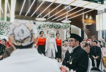 WEDDING OF INDAH & ANDZAR by Menara Mandiri (Ex. Plaza Bapindo) by IKK Wedding