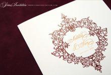 Natalia & Ian by Vinas Invitation