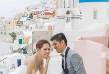 Xan & Natalie Santorini Engagement by Ian Vins