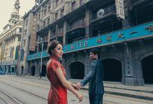 Kalvin & Helen Shanghai Engagement by Ian Vins