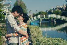 Daniel & Ceri Los Angeles Engagement by Ian Vins