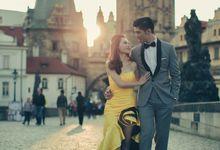 Xan & Natalie Prague Engagement by Ian Vins