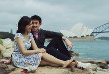 Deny & Yulia Sydney Engagement by Ian Vins