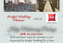 Holy Matrimony Package For New Normal by Bridget Wedding Planner