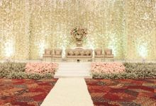 The wedding of Rio & Kanti by Vica Decoration