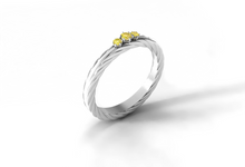 Arka wedding band by Reine