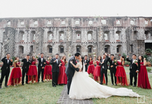Classic Burgundy Theme Wedding - Ricky & Novelyn  by Icona Elements Inc. ( an Events Company, Wedding Planning & Photography )