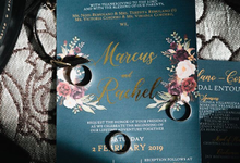 Blue and Red Wedding - Marcus & Rachel  02.02.2019 by Icona Elements Inc. ( an Events Company, Wedding Planning & Photography )