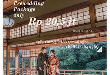 Promo 50 % Japan Prewedding by UK International Jakarta